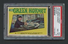 1966 Green Hornet Sticker card #37 - Bruce Lee Kato - PSA 8 NM
