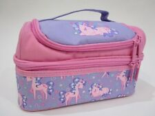NEW - Smiggle - Double Decker Unicorn & Flower Lunch Box - RRP $30