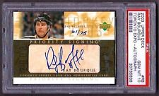 2003 UD Ray Bourque Signed Toronto Expo Auto 61/75 PSA Gem Mint 10