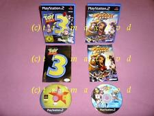 2x ps2 _ Toy Story 3 & Freaky Flyers _ First Editions VGC