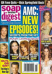 Soap Opera Digest Magazine March 18 2013 All My Children Melissa Reeves