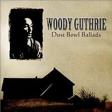 WOODY GUTHRIE Dust Bowl Ballads  CD