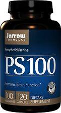 Jarrow Formulas PS100 Phosphatidylserine 100 mg, 120 Capsules, Brain & Memory