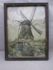 The Hushed Winds their Sabbath Keep by Bryan Framed Windmill from Magazine