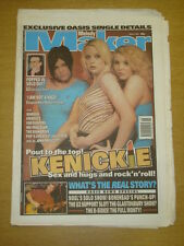 MELODY MAKER 1997 MAY 3 KENICKIE OASIS U2 MANSUN FOO