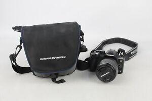 Olympus E-520 DSLR DIGITAL CAMERA w/ Olympus Zuiko Digital 14-45mm Lens WORKING