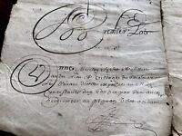 1656 Old Document on Paper 30 PAGES