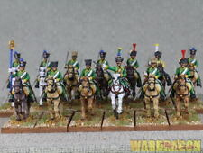 28mm Warlord WDS painted Black Powder Napoleonic French Chasseurs a Cheval d89
