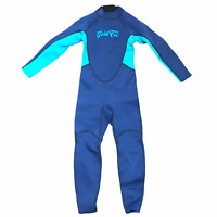 GoldFin Kids Wetsuit Size 8 Neoprene Youth Thermal Scuba Diving Suit Gold Fin