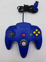 Nintendo 64 N64 Authentic Blue Controller OEM Tested and Works