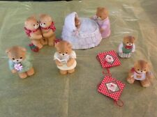Lot! of enesco lucy rigg lucy and me bears 1983 classics!  Several Rare!