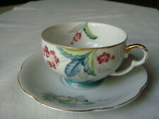 HAND PAINTED VINTAGE CUP AND SAUCER, MADE IN OCCUPIED JAPAN