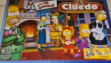 The Simpsons Cluedo Board Game 2001 Complete Parker - Pewter Collectable Pieces