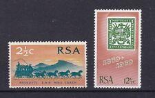 Sud Africa South Africa 1969 100 anniversario del 1° francobollo 322-23 MNH