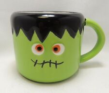 Frankenstein Halloween 16 Oz Coffee Tea Cocoa Mug Cup Hand Painted By Tag New