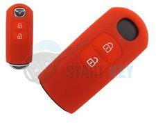 Mazda 2 3 6 CX5 CX3 MX5  Schlüssel Silikon Hülle Key Chiave cle Rot