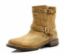 NEW Authentic UGG Australia Fabrizia Boot Chestnut Brown Suede Stud Women Sz 5