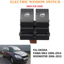 Driver Electric Power Window Button Switch 50MM 1Z0959858 For SKODA FABIA MK2
