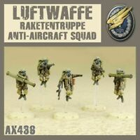 DUST 1947 - Axis Luftwaffe Raketentruppe Anti-Aircraft Squad -=NEW=-