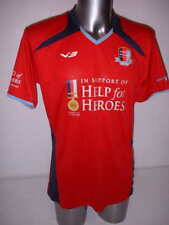 Help for Heroes Adult Large New BNWT Shirt Jersey Football Army Red Soccer Top