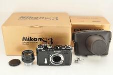 *NEAR MINT* Nikon S3 YEAR 2000 Limited Black w/ 50mm f/1.4 from Japan #0950