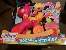 New Lalaloopsy Littles Rocker N Stroller Exclusive Sherri Charades Ship Everyday