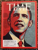 Time Magazine December 29 2008 / January 5 2009 PERSON OF THE YEAR Double Issue