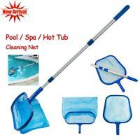 Pool Leaf Skimmer Net ( with/ Telescopic Pole ) - Swimming Pool Spa Hot Tub