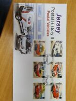 Jersey Stamps 2006 Postal History  vehicles FDC D402