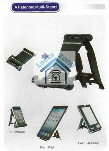 2 Desk Stand Holder For Mobile Phone iPhone iPad Samsung Or Any Phone 4 Colours
