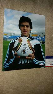 Ricardo Kaka signed autograph 11x14 PSA soccer Brazil
