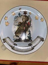 "Mj Hummel collectors Christmas plate, 1989, H-453, ""Guiding Light�"