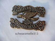 HARLEY  DAVIDSON   Schriftzug / Emblem zum Aufkleben oder Anschrauben