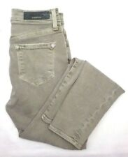 Baldwin Grey Green Cotton Pants Skinny Jeans Women's 25