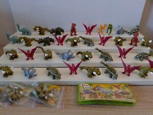 Kinder Nature Dinosaurier 36 Stück 25 Bpz Konvolut