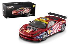 Hot Wheels Ferrari Elite 458 Italia GT2 Second Livery 1/18