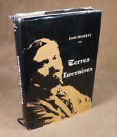 EMILE MOSELLY - TERRES LORRAINES - LE PARVIS DES ARTS 1982 (ENVOI)