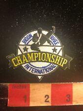 Martial Arts Patch Jhoon Ree Championship International 01Rn