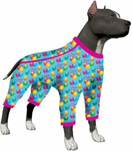 LovinPet Big Dogs Jamammies/Happy Birthday Birthday Jubilee Prints/Pit Bull Pjs