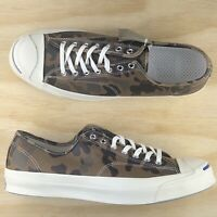 Converse Jack Purcell Signature Ox Low Top Camo Green White 151457C Size 12
