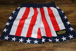 Replica Apollo Creed Rocky Boxing Shorts, by TopBoxer