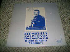 Red Nichols And His 5 Pennies The Lang Worth Transcriptions Rare Autographed LP