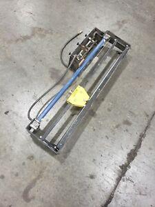 "Dehnco Pack Bench Systems Portable Sheet Cutter Pneumatic 40""  #23SR"