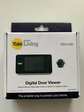 Yale digitaler Türspion YY45 Silber Digital Door Viewer Smart Home Türschloß Neu