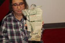 Vintage 1930's Fro-Joy Ice Cream Cones Babe Ruth Baseball Gas Oil Sign