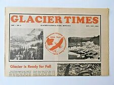 1982 GLACIER NATIONAL PARK NEWSPAPER