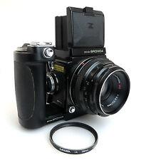 Zenza Bronica Z #b510214, lens zenzanon mc 2,8/75mm #760307 + handgrip bq003