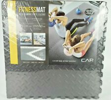 Floor Mat Exercise Gym Flooring Tiles Garage Home Fitness Workout Mats on hand!!