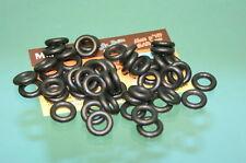 837/050 - Lot de 50 pneus 15/8 noirs lisses pour Dinky Toys série 24, 25, 500