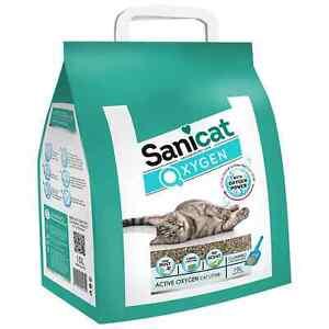 Sanicat Oxygen Power Clumping Litter 100% Natural Mineral Formula 10L